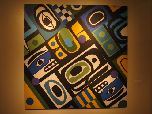 Smith's Chilkat inspired painting