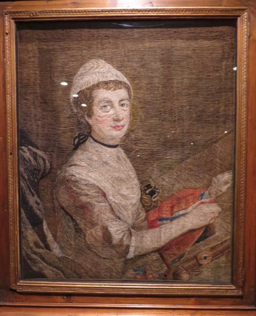 Mary Knowles - A Self Portrait, 1779