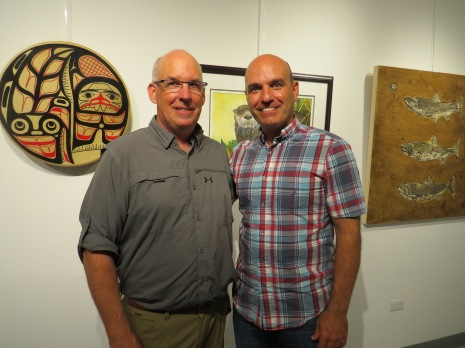 Dave Gordon and Nathan Cullen